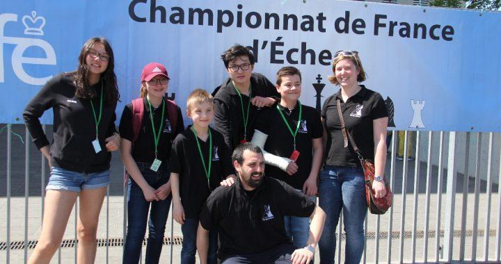 Championnats de France jeunes 2018 à Agen