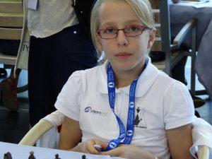 Septembre – Lucie aux championnats d'Europe des jeunes