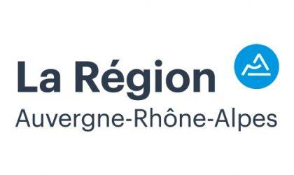La Région Auvergne-Rhône-Alpes nous soutient